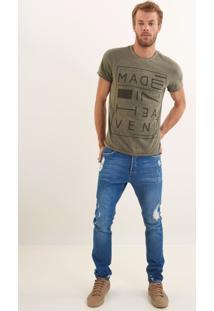 Calça John John Skinny Ratsbona Jeans Azul Masculina Cc Skinny Ratsbona-Jeans Medio-44