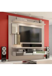 Painel Para Tv 180 Fendi Com Espelho Tb109E - Dalla Costa