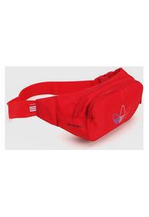 Pochete Adidas Originals Pochete Prime Blue Vermelha