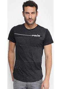 Camiseta Rg 518 Full Print Poá Degradê Com Bolso Masculina - Masculino