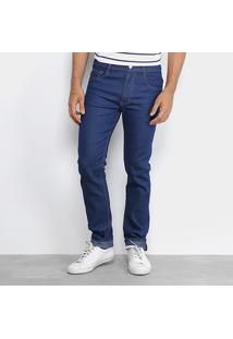 Calça Jeans Skinny Rock Blue Masculina - Masculino