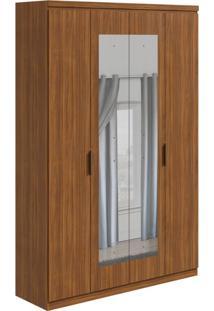 Guarda-Roupa Casal Com Espelho Alonzo 4 Pt 3 Gv Rovere