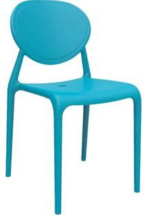 Cadeira Slick Sem Braço Azul