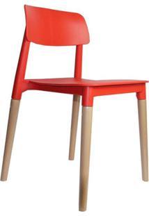Cadeira De Cozinha Juliana Vermelha