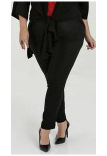 Calça Feminina Bengaline Skinny Plus Size Marisa