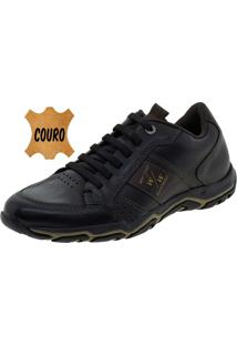 Sapatênis Masculino King Preto West Coast - 187102