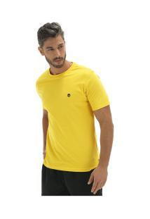 Camiseta Timberland Dunstan Rv Crew Tee - Masculina - Amarelo