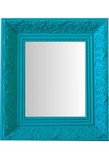Espelho Moldura Rococó Raso 16411 Anis Art Shop