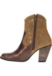 Bota Urbana Boots Country Marrom