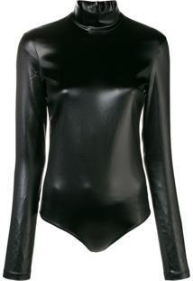 Givenchy Body Com Mangas Longas - Preto