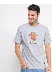 Camiseta Grizzly Thug Bear Masculina - Masculino