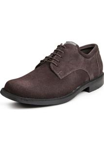 Sapato Calprado Camurca Cafe