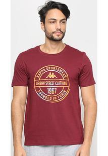 Camiseta Kappa Urban Street Masculina - Masculino