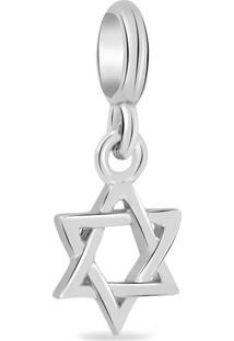 Pingente Life Estrela De Davi Judaísmo