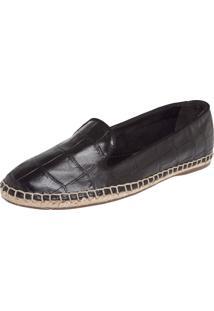 Alpargata My Shoes Textura Preta