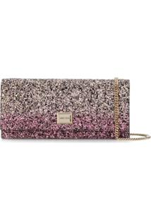 Jimmy Choo Lilia Clutch Bag - Rosa