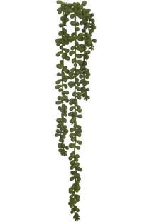 Pendente Suculenta Florarte 50Cm 4 Galhos Verde