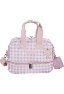 Bolsa Térmica - Vicky - Sorvete - Rosa - Masterbag