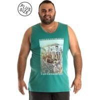 fa76397269 Regata Konciny Tradicional Plus Size Verde