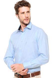 Camisa Aleatory Full Slim Azul
