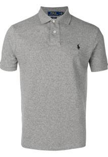 0faf9343ac4b1 ... Polo Ralph Lauren Camisa Polo Com Logo - Cinza