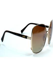 Óculos De Sol Jf Sun Luna - Rajado - Marrom Degradê