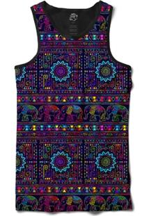 Camiseta Bsc Regata Indian Scarf Full Print - Masculino
