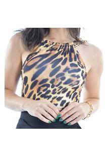 Body Com Bojo Estampa Animal Print