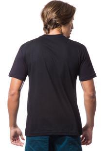 Camiseta Fallen Basica Wolf 321 Preto