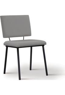 Cadeira De Jantar Antonella Cinza
