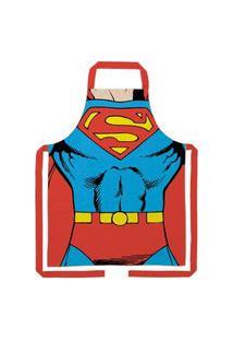 Avental Dc Comics Licenciado Superman- Algodáo