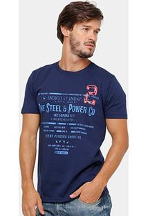 Camiseta Eagle Brasil Power Co Masculina - Masculino