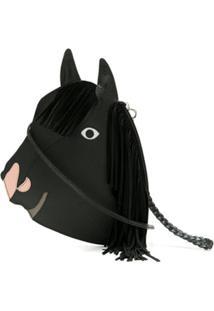 Sarah Chofakian Bolsa Tiracolo Cavalo De Couro - Preto