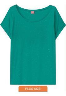 Blusa Verde Em Botonê