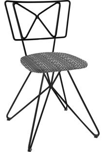 Cadeira Butterfly C01 Preta Daf