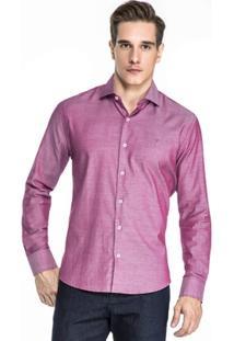 Camisa Hugo Rossi Maquinetado Ii - Masculino