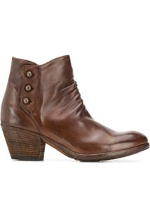 Officine Creative Ankle Boot Giselle - Marrom