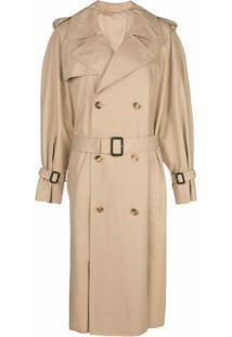 Wardrobe.Nyc Trench Coat Médio - Neutro