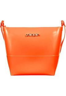 Bolsa Petite Jolie Easy Bag Express Cosmopolitan Feminina - Feminino-Laranja