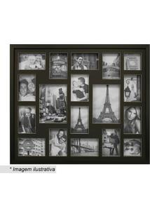 Painel Bee Collection Para 18 Fotos- Preto- 63X73Cmkapos