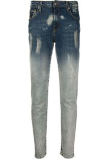 John Richmond Denim Slim-Fit Jeans - Azul