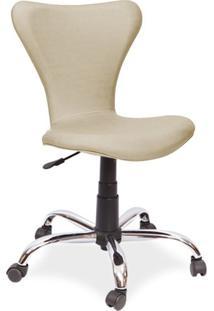 Cadeira De Escritório Ink Giratória, Facto Champagne