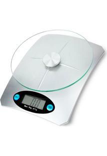 Balança Digital Cozinha Até 5 Kg Alta Precisão Plataforma Vidro Thata Esportes