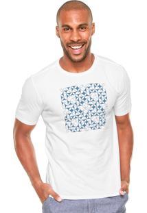 Camiseta Vr Abstrata Branca