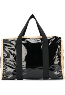 Kassl Editions Large Zipped Tote Bag - Preto