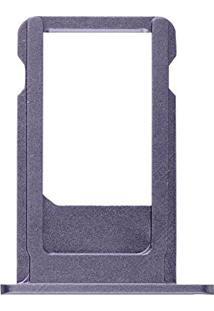 "Bandeja Gaveta Slot Tray Suporte Sim Chip Iphone 6S Plus (5.5"") - Cinza Espacial Perfeito!"