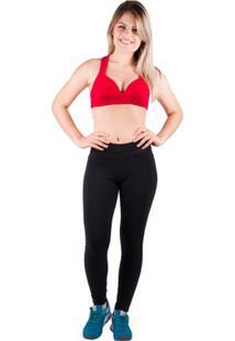 Sutiã Suplex Liso Com Bojo - Salto Triplo - Feminino-Vermelho