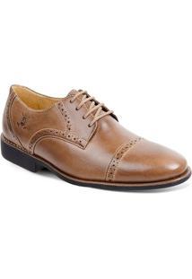 Sapato Em Couro Verona 220210 - Masculino-Café