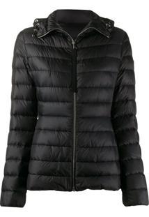 Moncler Amthyste Short Puffer Jacket - Preto