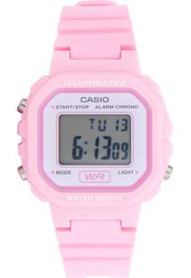 Relógio Casio La-20Wh-4A1Df Rosa - Kanui